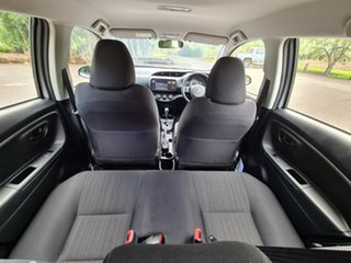 2019 Toyota Yaris NCP130R Ascent Silver 4 Speed Automatic Hatchback