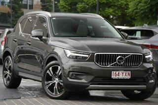 2019 Volvo XC40 XZ MY19 T4 AWD Inscription Titanium Grey 8 Speed Sports Automatic Wagon.