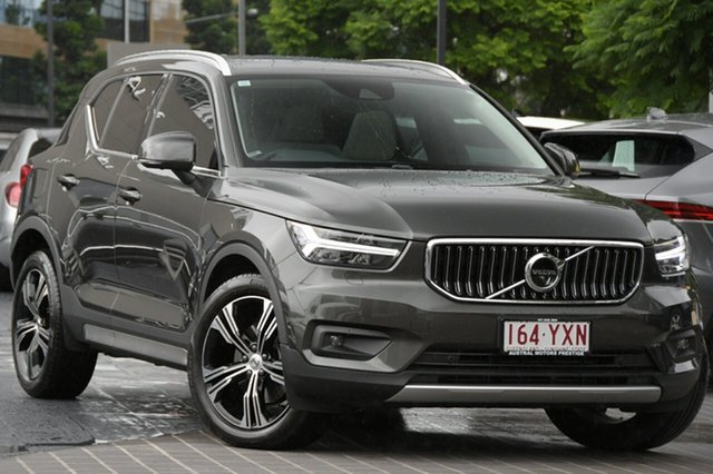 Used Volvo XC40 XZ MY19 T4 AWD Inscription Newstead, 2019 Volvo XC40 XZ MY19 T4 AWD Inscription Titanium Grey 8 Speed Sports Automatic Wagon