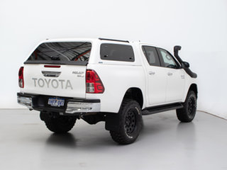 2018 Toyota Hilux GUN126R MY19 SR5 (4x4) White 6 Speed Automatic Double Cab Pick Up