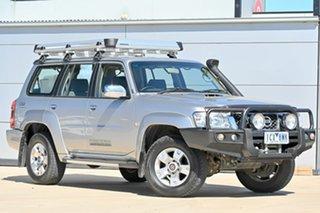 2014 Nissan Patrol Y61 GU 9 ST Silver 5 Speed Manual Wagon.
