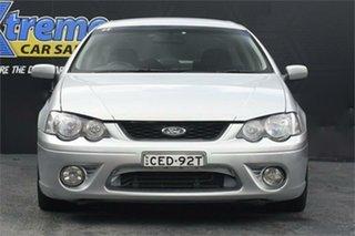 2006 Ford Falcon BF Mk II XR6 Silver 6 Speed Sports Automatic Sedan.