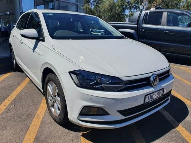 Used Volkswagen Polo AW MY19 85TSI DSG Comfortline Epsom, 2019 Volkswagen Polo AW MY19 85TSI DSG Comfortline White 7 Speed Sports Automatic Dual Clutch