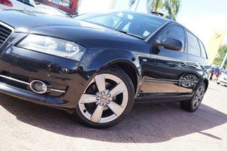 2012 Audi A3 8P MY12 Sportback 1.8 TFSI Ambition Black 7 Speed Auto Direct Shift Hatchback.