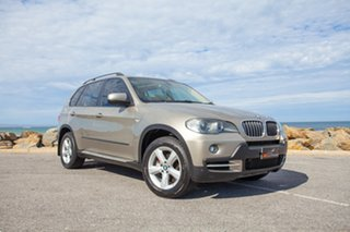 2008 BMW X5 E70 MY09 xDrive30d Steptronic Gold 6 Speed Sports Automatic Wagon.
