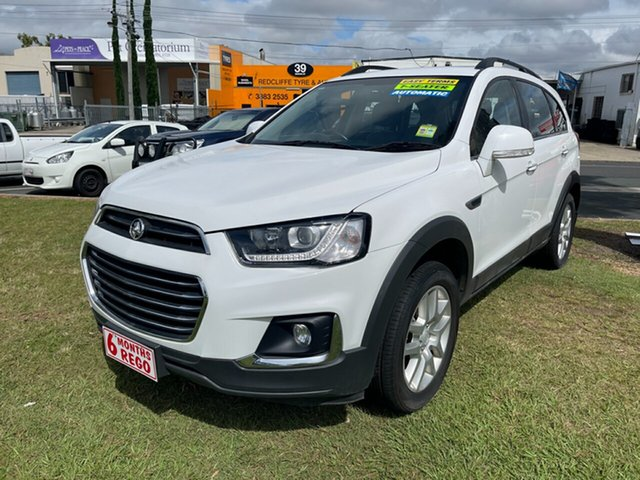 Used Holden Captiva CG MY17 Active 2WD Clontarf, 2017 Holden Captiva CG MY17 Active 2WD White 6 Speed Sports Automatic Wagon