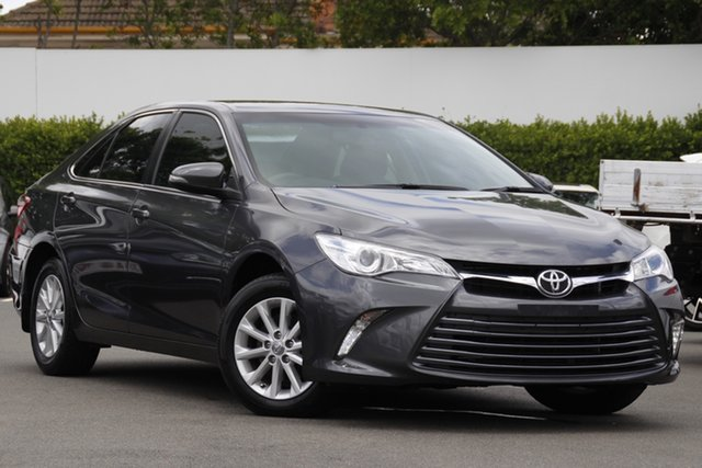 Used Toyota Camry ASV50R Altise Mount Gravatt, 2016 Toyota Camry ASV50R Altise Grey 6 Speed Sports Automatic Sedan