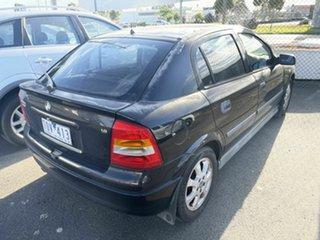 2005 Holden Astra TS CD Classic Black 5 Speed Manual Sedan