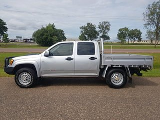 2010 Holden Colorado RC MY11 LX Crew Cab Silver 5 Speed Manual Cab Chassis