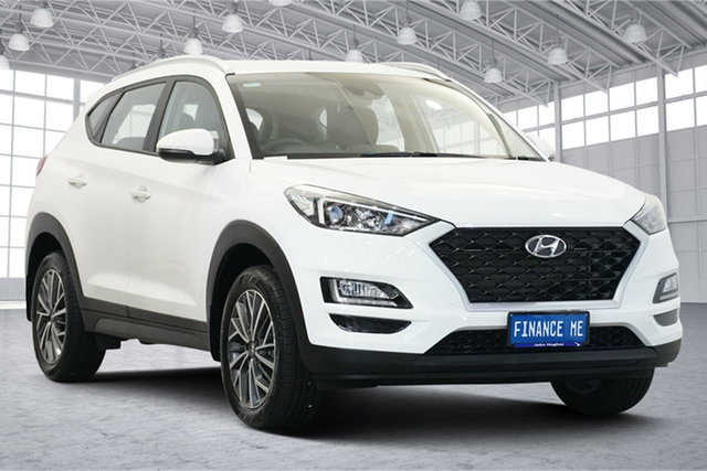Used Hyundai Tucson TL4 MY20 Active X 2WD Victoria Park, 2020 Hyundai Tucson TL4 MY20 Active X 2WD Pure White 6 Speed Automatic Wagon