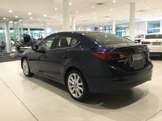2016 Mazda 3 BM5238 SP25 SKYACTIV-Drive Deep Blue 6 Speed Sports Automatic Sedan