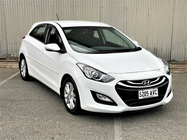 Used Hyundai i30 GD Elite Morphett Vale, 2012 Hyundai i30 GD Elite White 6 Speed Sports Automatic Hatchback