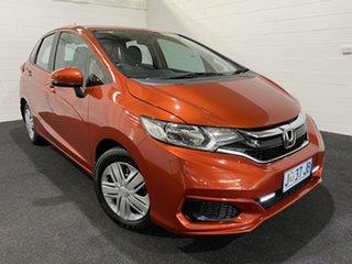 2017 Honda Jazz GF MY17 VTi Orange 1 Speed Constant Variable Hatchback