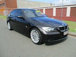 2007 BMW 3 Series E90 320i Steptronic Black 6 Speed Automatic Sedan.