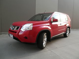 2011 Nissan X-Trail T31 Series IV ST 2WD Burning Red 1 Speed Constant Variable Wagon.