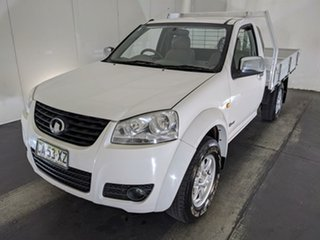 2014 Great Wall V240 K2 MY14 4x2 White 5 Speed Manual Cab Chassis.