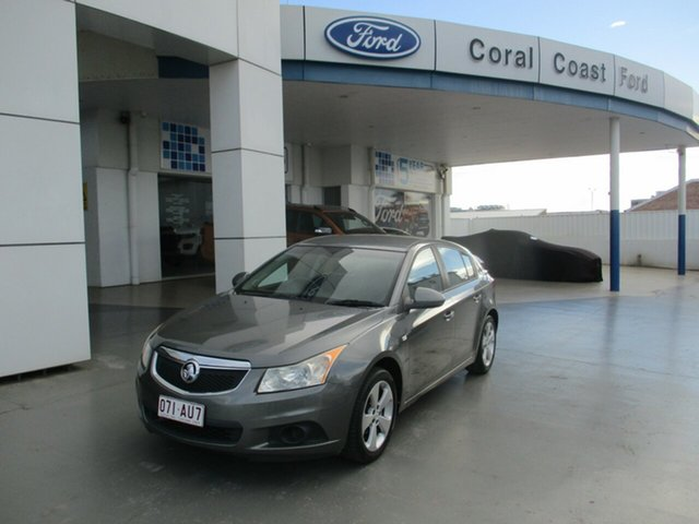 Used Holden Cruze JH MY13 CD Equipe Bundaberg, 2012 Holden Cruze JH MY13 CD Equipe Grey 6 Speed Automatic Hatchback
