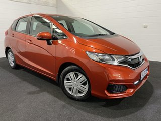 2017 Honda Jazz GF MY17 VTi Orange 1 Speed Constant Variable Hatchback.