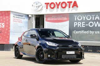 2020 Toyota Yaris GR Gxpa16R GR Tarmac Black 6 Speed Manual Hatchback.