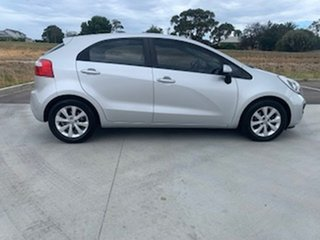 2014 Kia Rio UB MY14 S Silver 6 Speed Manual Hatchback