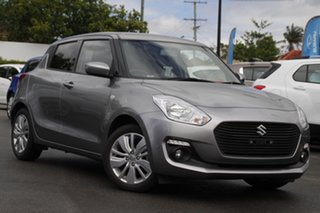 2019 Suzuki Swift AZ GL Navigator Silver 1 Speed Constant Variable Hatchback