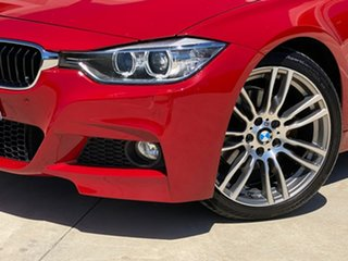 2014 BMW 320d F30 MY0813 320d Red 8 Speed Sports Automatic Sedan