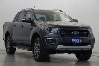 2020 Ford Ranger PX MkIII 2020.25MY Wildtrak Meteor Grey 6 Speed Sports Automatic Double Cab Pick Up.