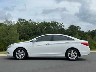 2011 Hyundai i45 YF MY11 Elite White 6 Speed Sports Automatic Sedan