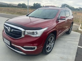 2018 Holden Acadia AC MY19 LTZ-V 2WD Red 9 Speed Sports Automatic Wagon.