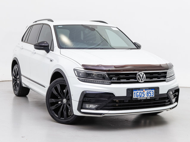 Used Volkswagen Tiguan 5NA MY19 Wolfsburg Edition, 2018 Volkswagen Tiguan 5NA MY19 Wolfsburg Edition White 7 Speed Auto Direct Shift Wagon