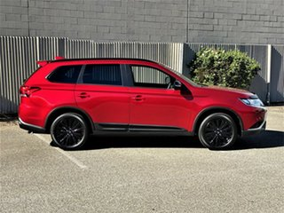 2020 Mitsubishi Outlander ZL MY21 Black Edition AWD Red Diamond 6 Speed Constant Variable Wagon