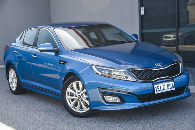 Used Kia Optima TF MY14 SI Osborne Park, 2014 Kia Optima TF MY14 SI Blue 6 Speed Sports Automatic Sedan