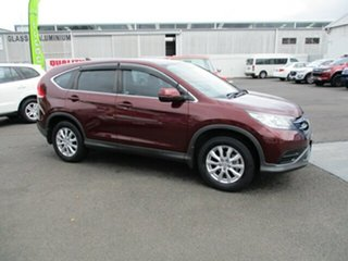 2013 Honda CR-V Red 4 Speed Automatic Wagon.