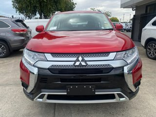 2019 Mitsubishi Outlander ZL MY20 ES 2WD Diamond Red 5 Speed Manual Wagon.