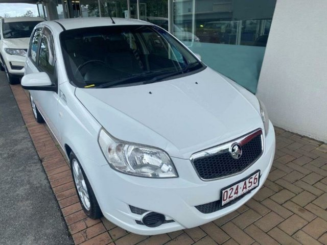 Used Holden Barina TK MY11 Springwood, 2010 Holden Barina TK MY11 White 4 Speed Automatic Hatchback