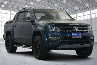 2018 Volkswagen Amarok 2H MY19 TDI580 4MOTION Perm Ultimate Green 8 Speed Automatic Utility.