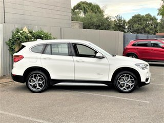 2017 BMW X1 F48 sDrive18d Steptronic White 8 Speed Sports Automatic Wagon.