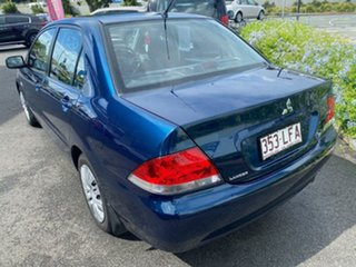 2006 Mitsubishi Lancer CH MY07 ES Blue 4 Speed Sports Automatic Sedan