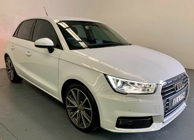 Used Audi A1 8X MY17 Sport Sportback S Tronic Newcastle West, 2017 Audi A1 8X MY17 Sport Sportback S Tronic White 7 Speed Sports Automatic Dual Clutch Hatchback