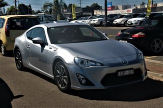 2014 Toyota 86 ZN6 GT Silver 6 Speed Sports Automatic Coupe.