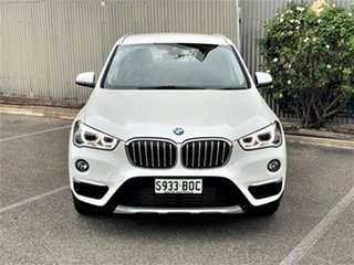 2017 BMW X1 F48 sDrive18d Steptronic White 8 Speed Sports Automatic Wagon