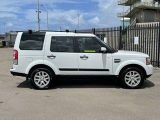2011 Land Rover Discovery 4 Series 4 MY11 TdV6 CommandShift White 6 Speed Sports Automatic Wagon