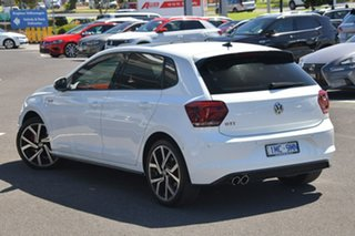 2018 Volkswagen Polo AW MY18 GTI DSG White 6 Speed Sports Automatic Dual Clutch Hatchback.