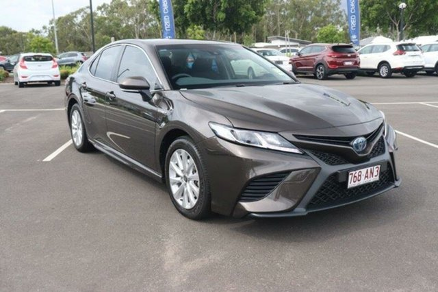 Used Toyota Camry AXVH71R Ascent Sport Augustine Heights, 2020 Toyota Camry AXVH71R Ascent Sport Steel Blonde 6 Speed Constant Variable Sedan Hybrid