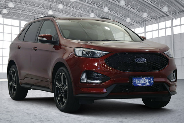 Used Ford Endura CA 2019MY ST-Line Victoria Park, 2019 Ford Endura CA 2019MY ST-Line Red 8 Speed Sports Automatic Wagon