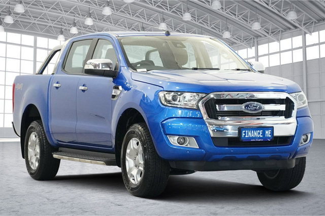 Used Ford Ranger PX MkIII 2019.00MY XLT Victoria Park, 2018 Ford Ranger PX MkIII 2019.00MY XLT Blue 6 Speed Sports Automatic Utility