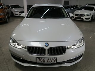 2017 BMW 3 Series F30 LCI 330i Luxury Line White 8 Speed Sports Automatic Sedan