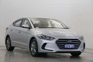2018 Hyundai Elantra AD.2 MY19 Active Platinum Silver 6 Speed Sports Automatic Sedan