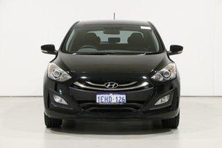 2013 Hyundai i30 GD Elite Black 6 Speed Manual Hatchback.