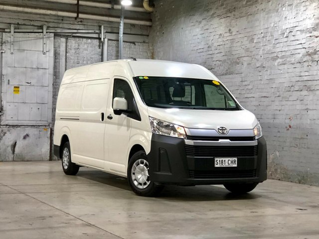 Used Toyota HiAce GRH320R High Roof Super LWB Mile End South, 2019 Toyota HiAce GRH320R High Roof Super LWB White 6 Speed Sports Automatic Van